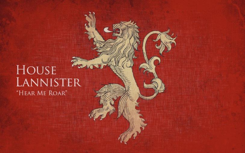 Il motto e lo stemma di Casa Lannister