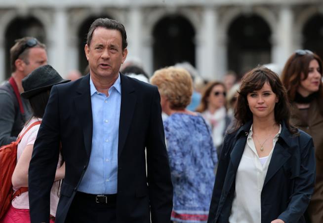 Inferno Tom Hanks e Felicity Jones