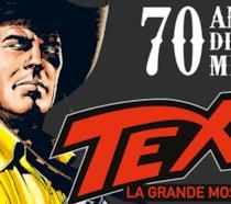 Il poster della mostra Tex. 70 anni di un mito