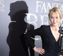 J.K.Rowling alla première di Animali Fantastici e Dove Trovarli