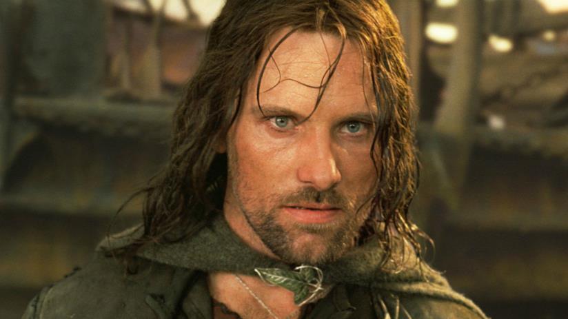 Viggo Mortensen nei panni di Aragorn ne Il Signore degli Anelli