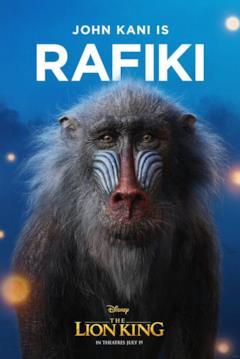 character poster di Rafiki