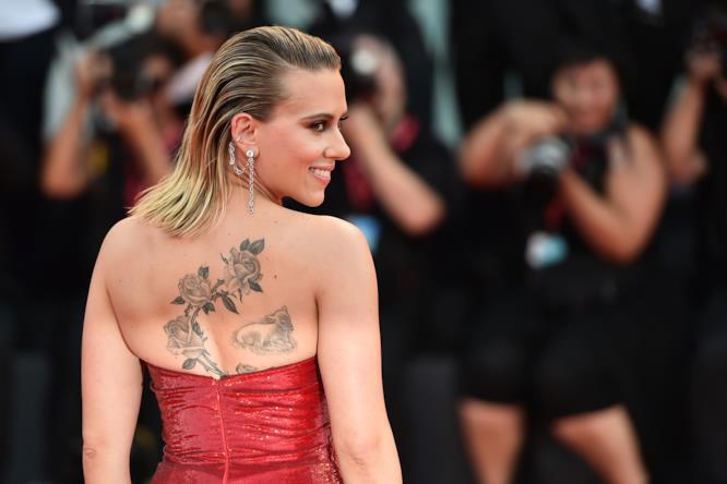 I fotografi sono tutti per Scarlett Johansson