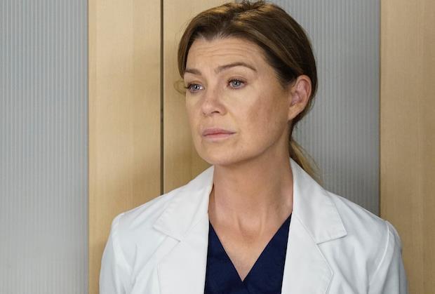 Ellen Pompeo nei panni di Meredith Grey