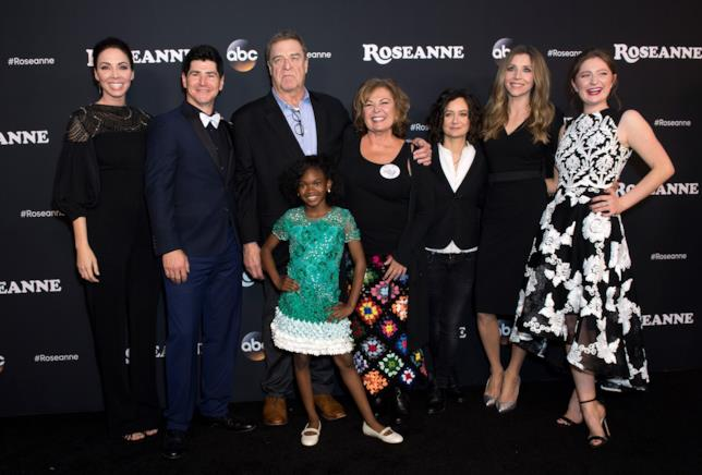 Il cast di Roseanne nel reboot