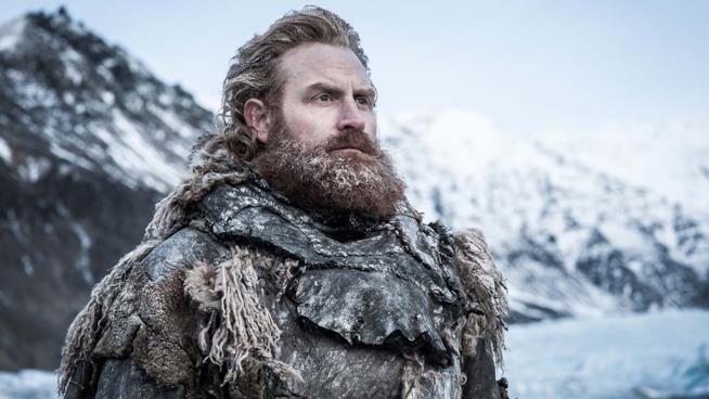 Tormund e la sua folta barba