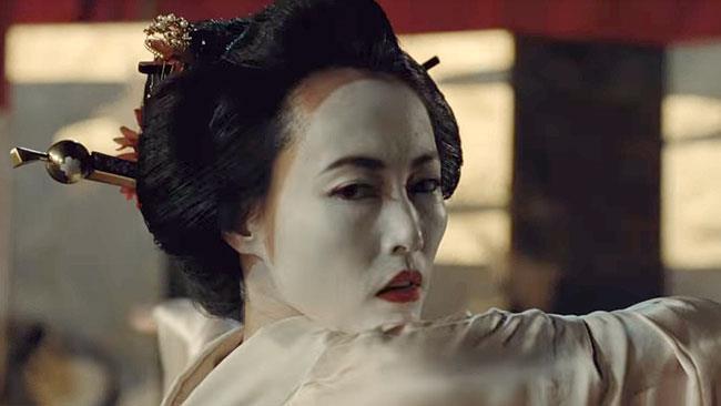 Rinko Kikuchi nella seconda stagione di Westworld