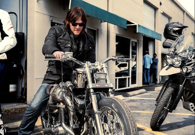 Norman Reedus a un evento per The Walking Dead
