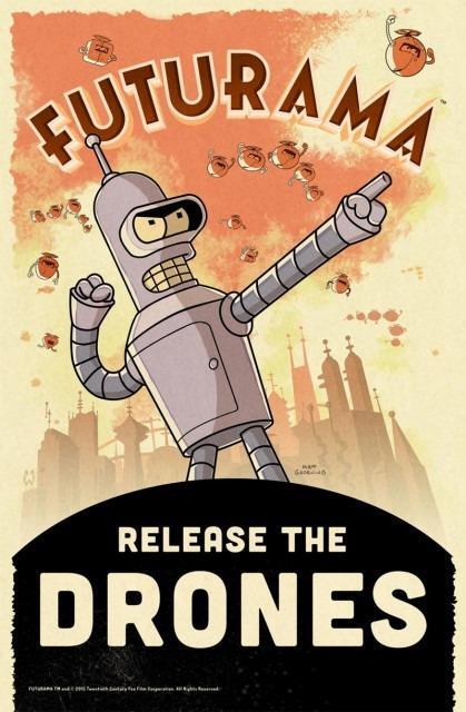 L'esercito di droni di Bender