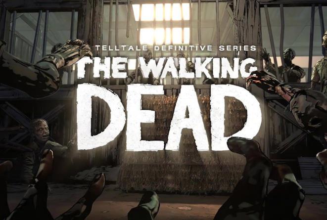 La copertina di The Walking Dead: The Telltale Definitive Series