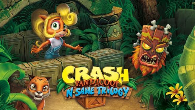 Immagine promozionale di Crash Bandicoot N.Sane Trilogy