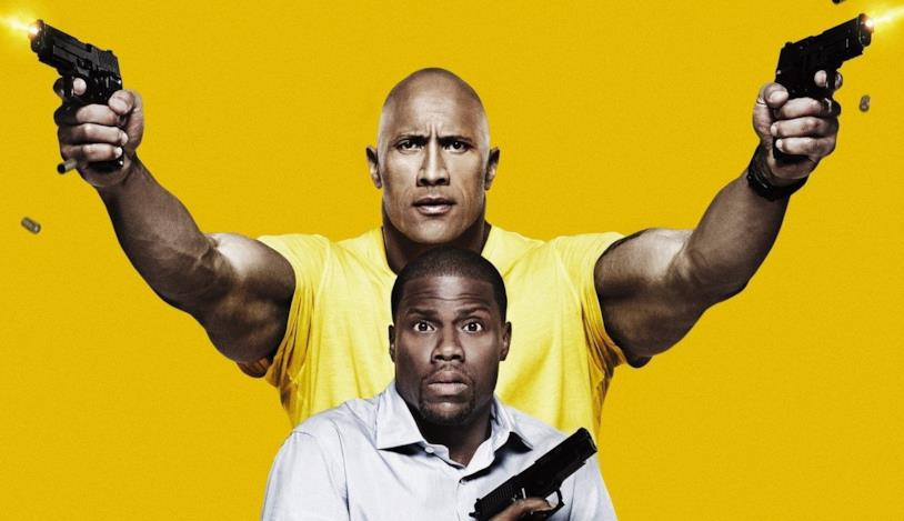 The Rock e Kevin Hart in una immagine promozionale del film Una spia e mezzo