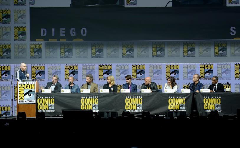Il cast di Breaking Bad al panel del Comic-Con 2018