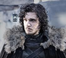 Kit Harington è Jon Snow in Game of Thrones