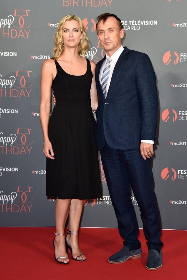 Robert Knepper con la moglie a Monte Carlo
