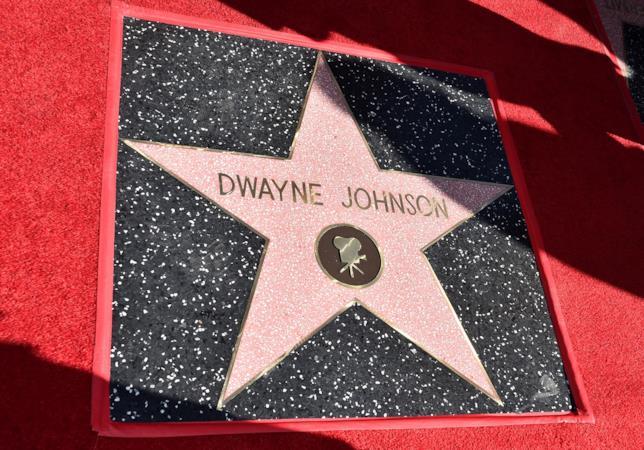 La stella di Dwayne Johnson