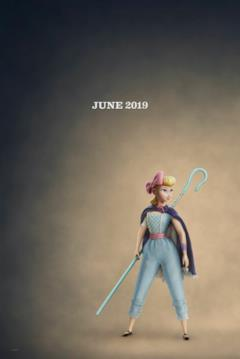 Bo Peep nel character poster di Toy Story 4