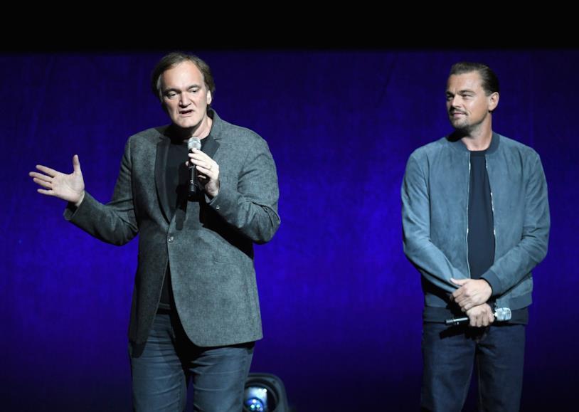 Quentin Tarantino e Leonardo DiCaprio incontrano il pubblico al CinemaCon 2018