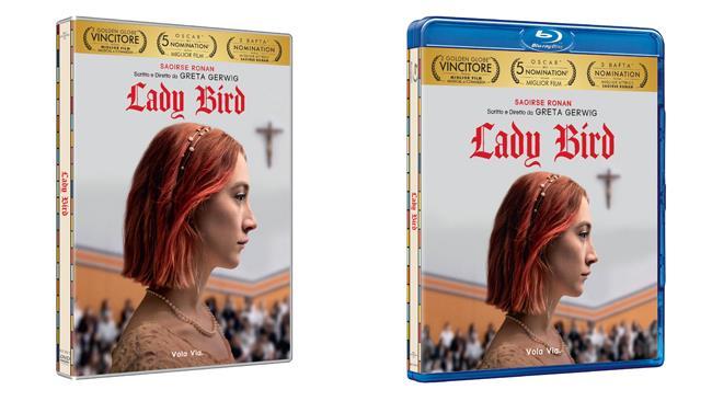 Lady Bird di Greta Gerwig, edizioni DVD e Blu-ray