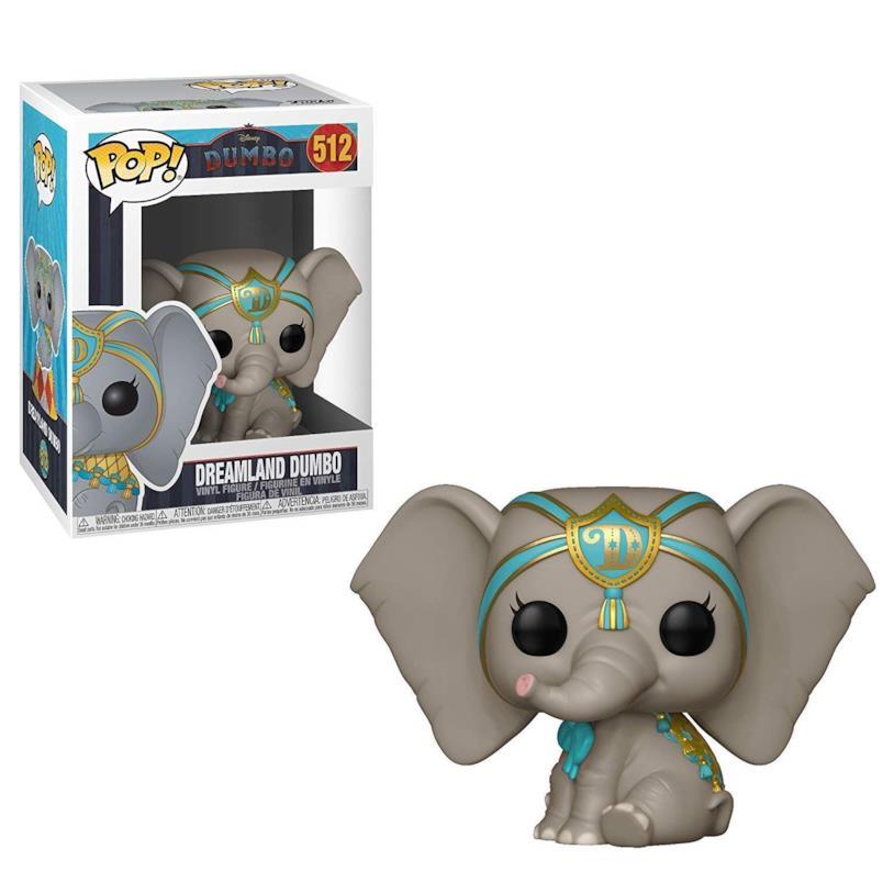 la minifigure di Dumbo firmata Funko