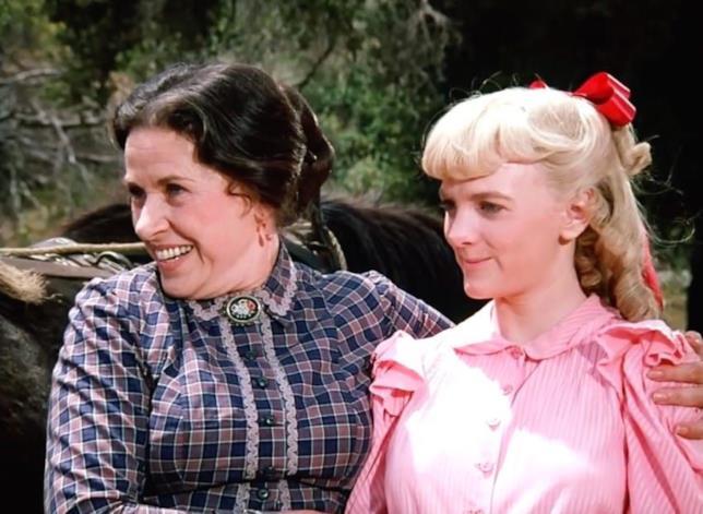 Katherine MacGregor divenne popolare alla fine degli anni '70 nel ruolo di Harriet Oleson