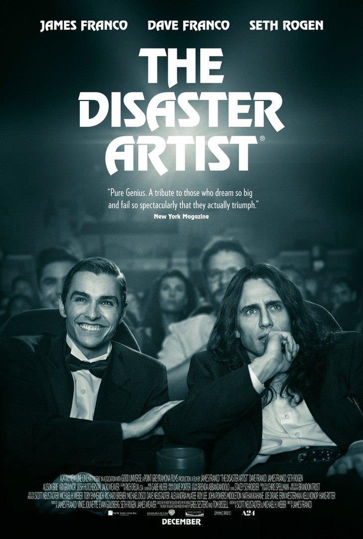 Nuovo poster ufficiale di The Disaster Artist