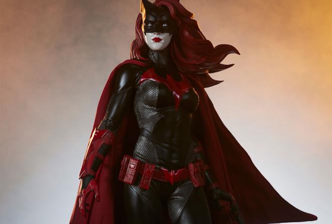 La statua di Batwoman realizzata da Sideshow
