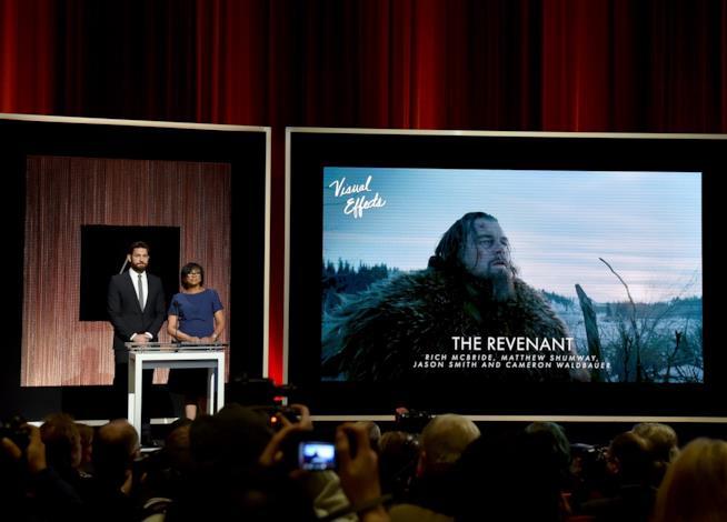 Il trionfo dell'orso di The Revenant ai Visual Effects Society Awards 2016