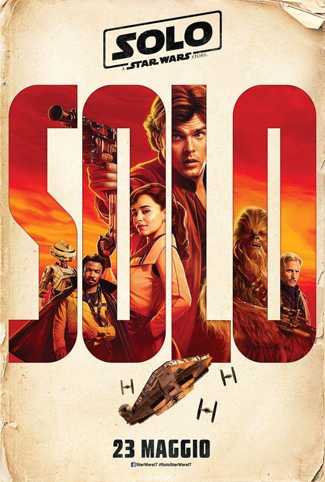 Solo: A Star Wars Story, locandina ufficiale