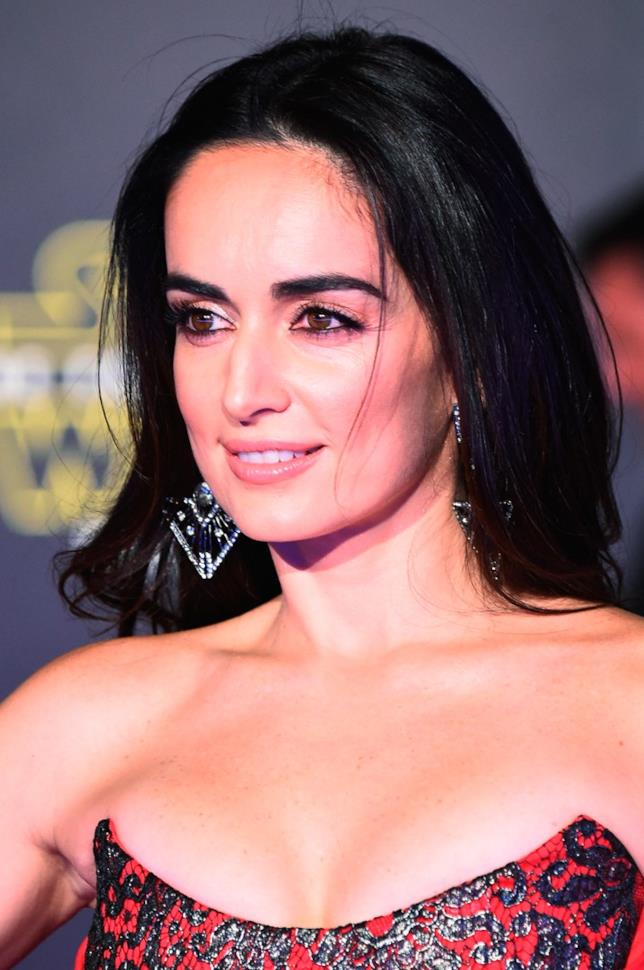 L'attrice messicana Ana d La Reguera