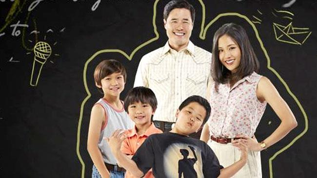 I protagonisti della serie TV Fresh Off the Boat