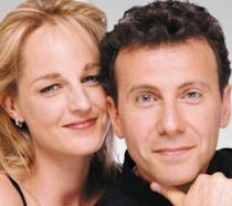 Helen Hunt e Paul Reiser in primo piano per Innamorati Pazzi