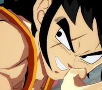 Un primo piano di Yamcha da Dragon Ball FighterZ