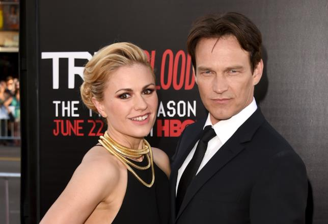 Anna Paquin e Stephen Moyer alla premiere HBO di True Blood