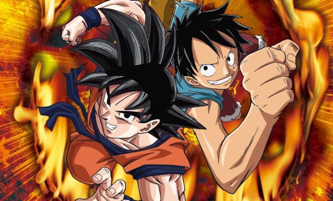 Goku e Rufy