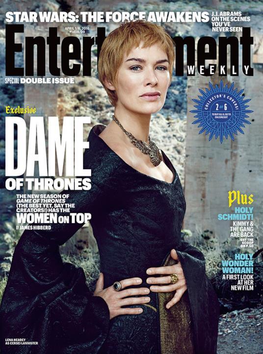 Lena Headey è Cersei Lannister sulla copertina di EW