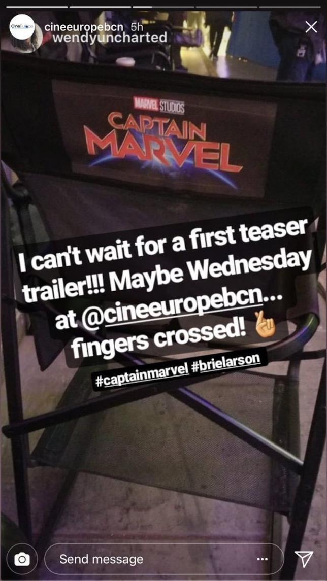 Il teaser trailer di Captain Marvel arriverà Mercoledì?