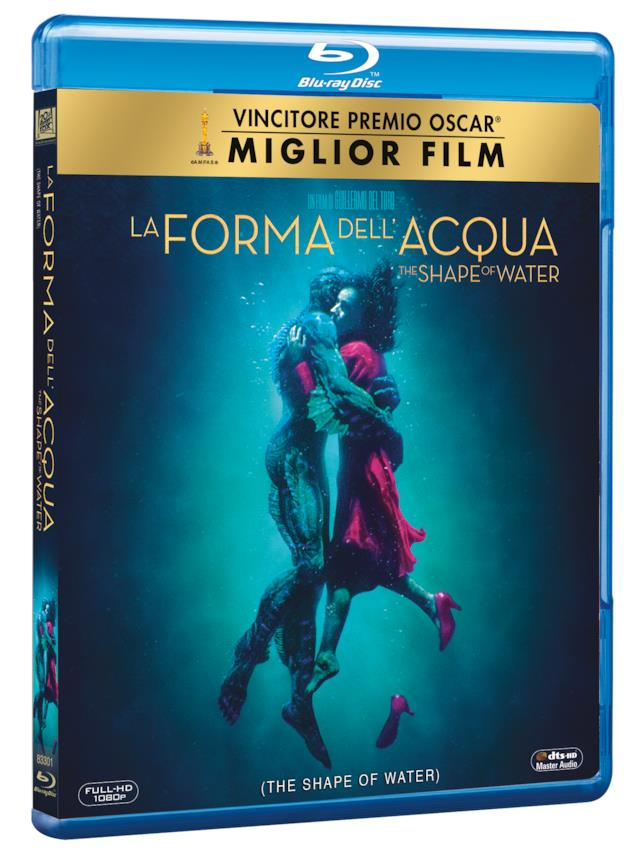 Packshot de La Forma dell'Acqua in Blu-ray
