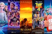 I poster di Frozen 2, Avengers: Endgame, Il re leone, Toy Story 4, Ralph Spacca Internet