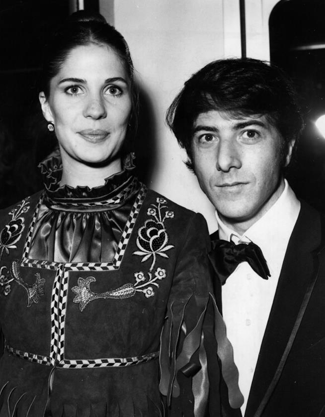 Dustin Hoffman e la prima moglie, Anne Byrne