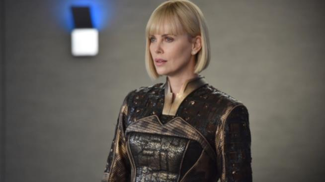 Charlize Theron in The Orville