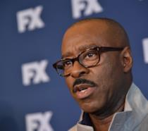 Courtney B. Vance durante un'intervista
