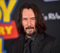 Keanu Reeves fotografato alla prima mondiale di Toy Story 4