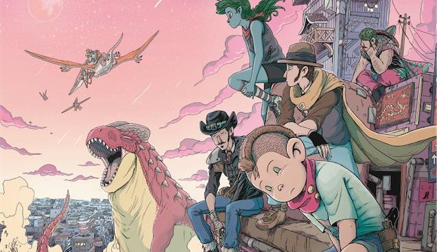 La copertina del fumetto di Capitan Artiglio