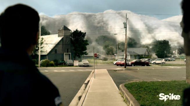 The Mist, scena serie TV
