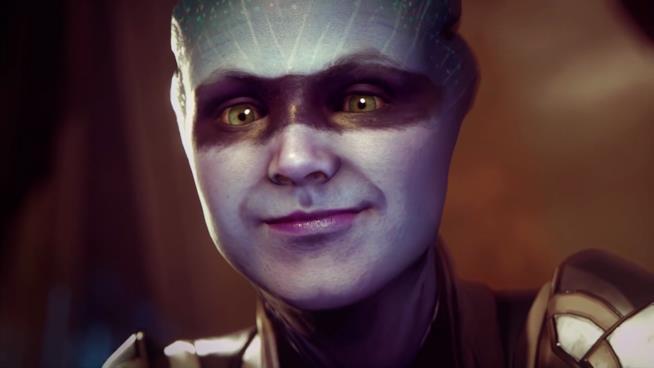 Primo piano per la Asari di Mass Effect: Andromeda