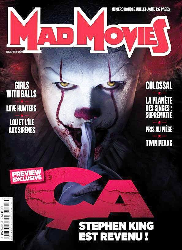 MadMovies, copertina con Pennywise