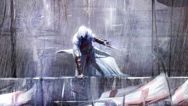 Altair in azione nel primo Assassin's Creed