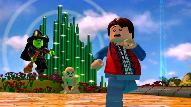 Marty McFly incontra Gollum e il mondo del Mago di OZ in LEGO Dimensions