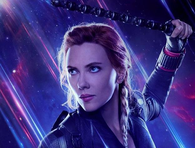 Locandina di Avengers: Endgame dedicata a Black Widow